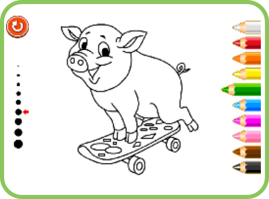 Coloring Games At Smarty Games - Free Educational Website For Kids